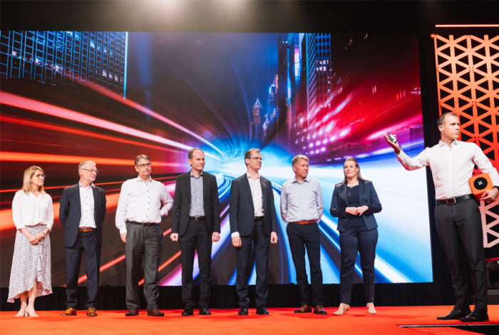 Danfoss Drives leadership team at the DC19