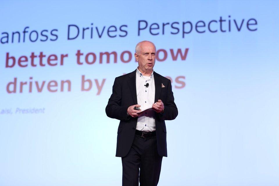 Danfoss Drives Conference Vesa Laisi