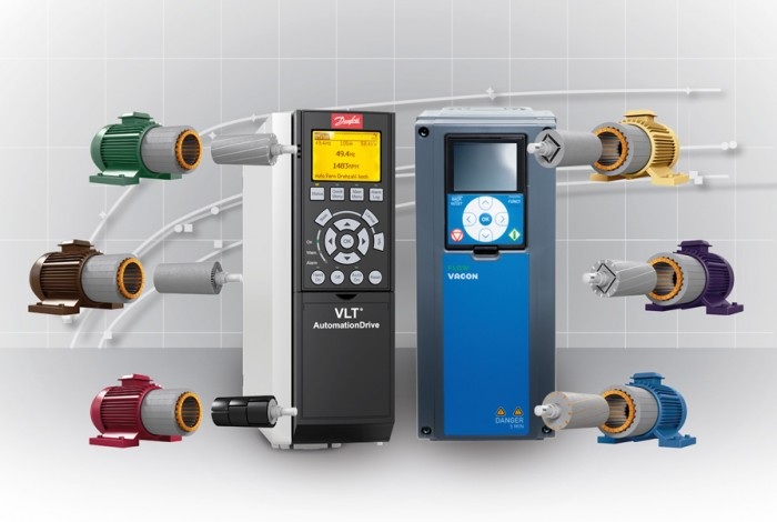 VLT® and VACON® drives are compatible with all standard motor technologies