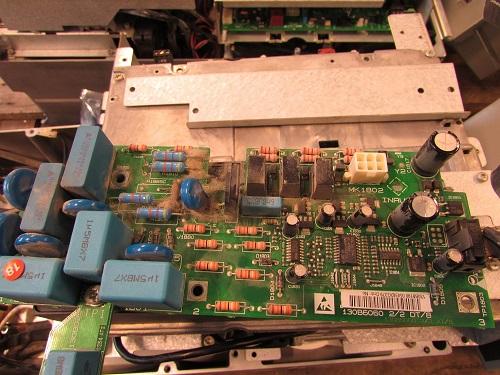 Dust on AC drives