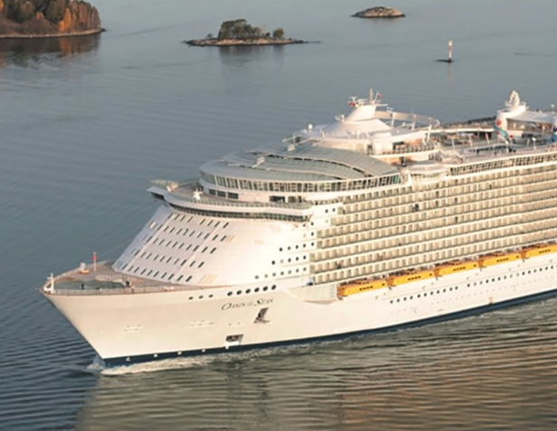 How Many Frequency Converters Does It Take To Run A Cruise Liner - Example of cruise ship