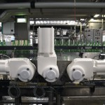 The Danfoss VLT OneGearDrive Hygienic is resistant to pH levels of 2 - 14.
