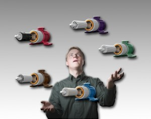 One Frequency Drive For All Motors