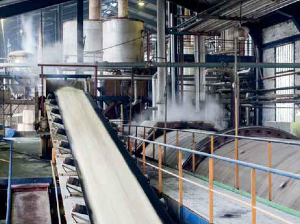 sugar industry process